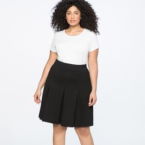 ELOQUII A-line Pleated Skirt — NWT